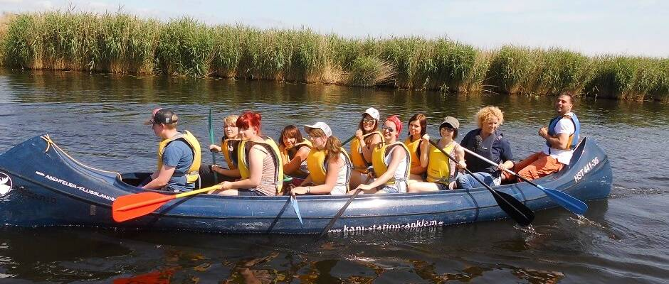 Paddle trip to the Peene valley