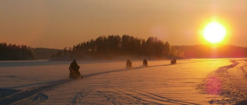 A winter adventure in Finland